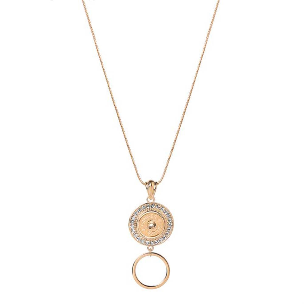 Ginger Snaps Eyeglass Holder Necklace Fountain-Rose Gold