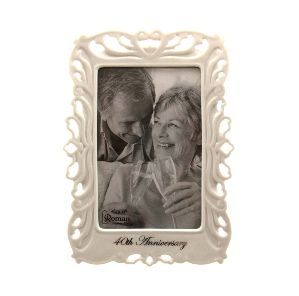 40th Anniversary Frame 4X6