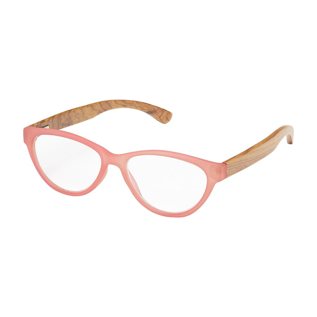 '+3.00 Madison Rosewood Readers-Pink