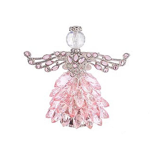 Blessed Angel Figurine - Pink