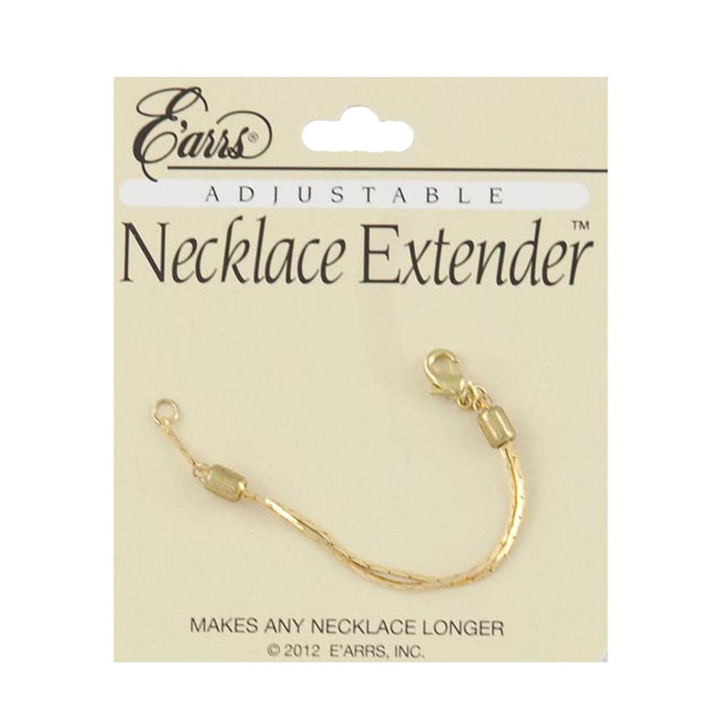 Adjustable Necklace Extender Gold