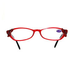 '+1.25 Red Hat Reading Glasses DG