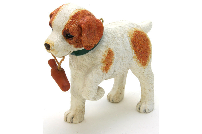 Jack Russel Puppy Ornament