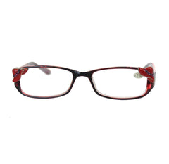 '+2.00 Red Hat Reading Glasses