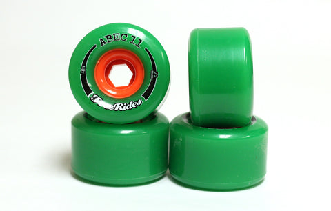 ABEC11 Freerides 72mm 81a