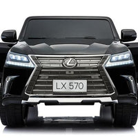 Toddler Power Wheels Lexus LX570 with Remote Control in Black