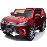 Toddler Power Wheels Lexus LX570 with Remote Control in Red