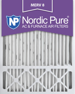 20x25x5 Honeywell Replacement Pleated MERV 8 Air Filters Qty 1 - Nordic Pure