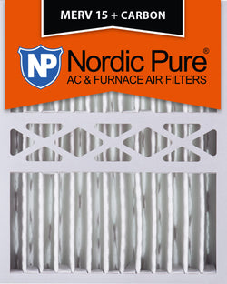 16x20x5 Honeywell Replacement Merv 15 Plus Carbon Qty 1 - Nordic Pure