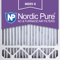 20x20x5 Honeywell Replacement Pleated MERV 8 Air Filters Qty 4 - Nordic Pure