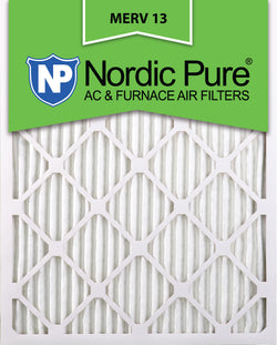 10x20x1 Pleated MERV 13 AC Furnace Filters Qty 6 - Nordic Pure