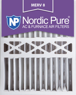 16x20x5 Honeywell Replacement Pleated MERV 8 Qty 1 - Nordic Pure