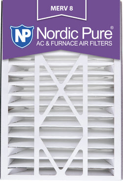 16x25x5 Air Bear Replacement MERV 8 Qty 2 - Nordic Pure