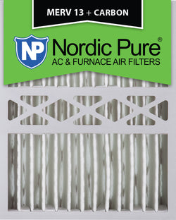 16x20x5 Honeywell Replacement Merv 13 Plus Carbon Qty 1 - Nordic Pure