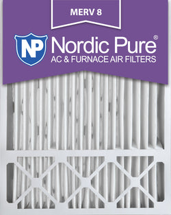 20x25x5 Lennox X6673_X6675 Replacement  Pleated MERV 8 - Nordic Pure