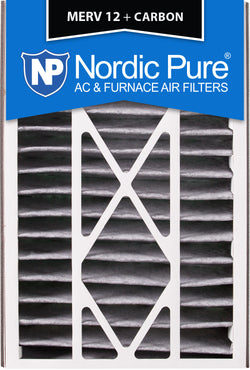 16x25x5 Air Bear Replacement MERV 12 Pleated Plus Carbon Qty 1 - Nordic Pure