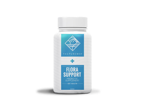 Flora Support Prebiotics (120 Capsules)