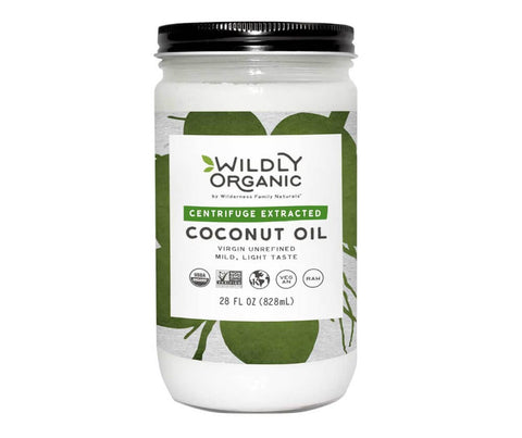 Organic Centrifuge Extracted Coconut Oil (14-64oz)