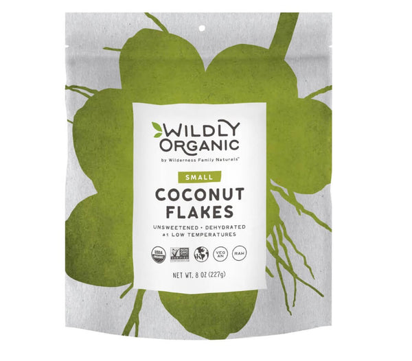 Raw, Organic Coconut Flakes (8oz)