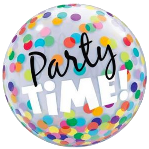Party Time Bubble Balloon 56cm