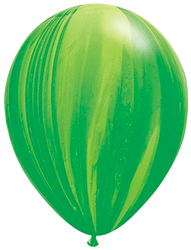 Green Marble Balloon