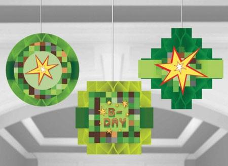 Minecraft Honeycomb Hanging Decoration NZ