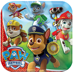 Paw Patrol Large Party Plates