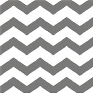 Silver Chevron Lunch Napkins