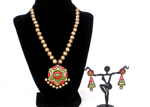 ethnic terracotta set
