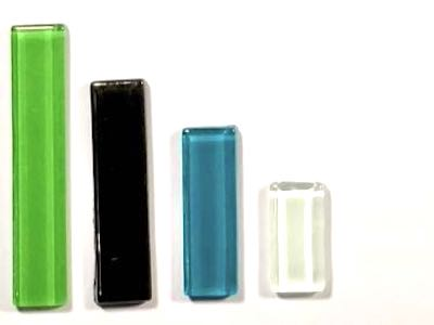 Multi-Coloured Mixed Glass Rectangles