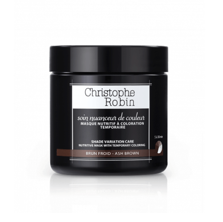 Christophe Robin Ash Brown Shade Variation Mask Haircare - Masks & Treatment Christophe Robin