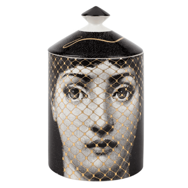 Fornasetti Candle, 300g GOLDEN BURLESQUE Fragrance - Candles & Home Scents Fornasetti