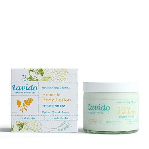 Lavido Aromatic Body Lotion: Mandarin Orange, Bergamot Bath & Body - Moisturizer Lavido
