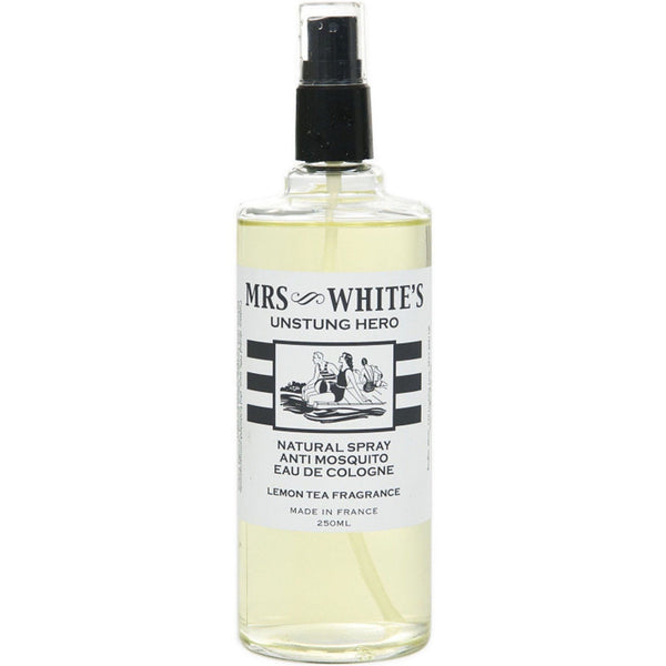 Unstung Hero - Natural Spray Anti-Mosquito Eau de Cologne Fragrance - Perfume Mrs. Whites