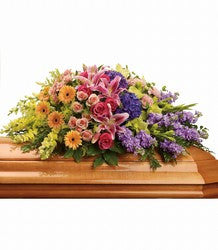 Garden Casket Spray