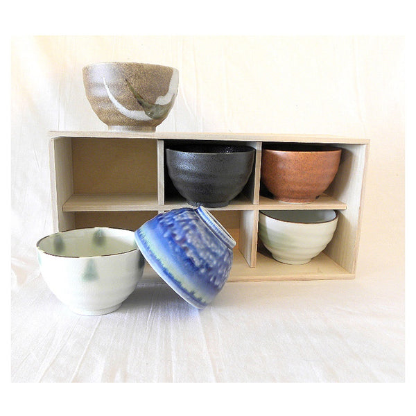 Set of 6 Japanese Bowls
