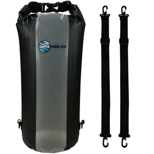 Earth River SUP Dry Bag With Backpack Straps and Translucent Window