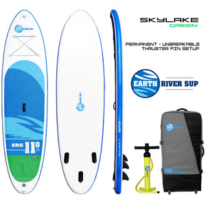 "Earth River SUP 11-0 SKYLAKE GREEN™ Inflatable Paddle Board 2019 (11'0""x34""x5"")"