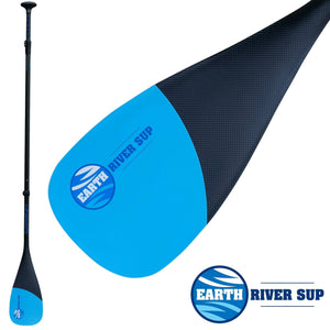 EARTH RIVER SUP CARBON 85 SUP PADDLE - 1|2|3 PIECE OPTIONS (2019)