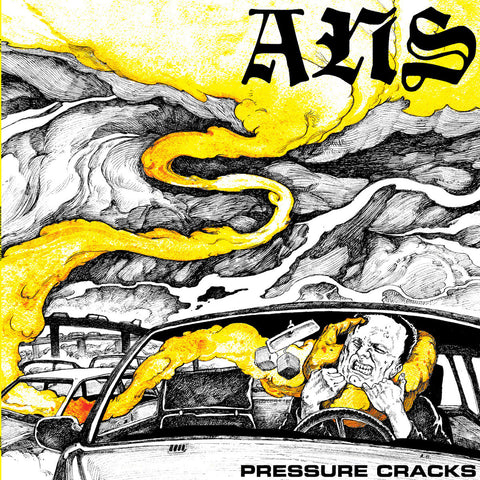 "A.N.S. 'Pressure Cracks' 12"" LP"