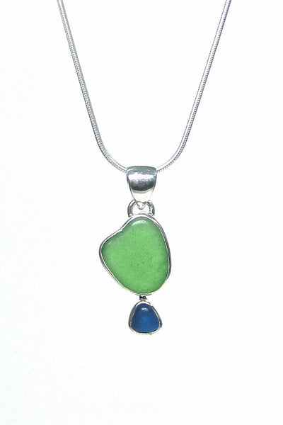 Double Bezel Pendant with Gift Box - Fishers Finery