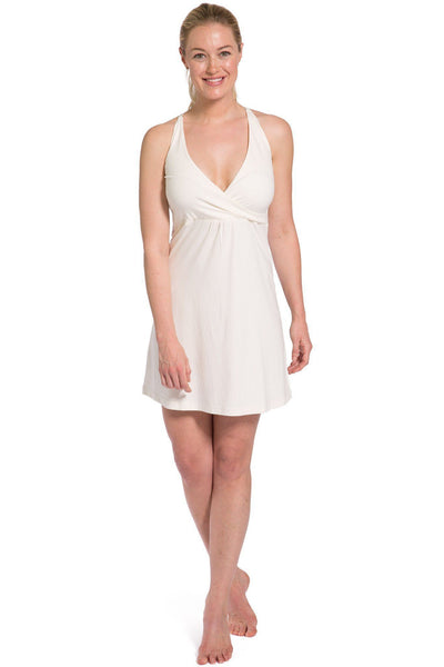 Women's EcoFabric™ Nightgown with Bralette Top - Fishers Finery