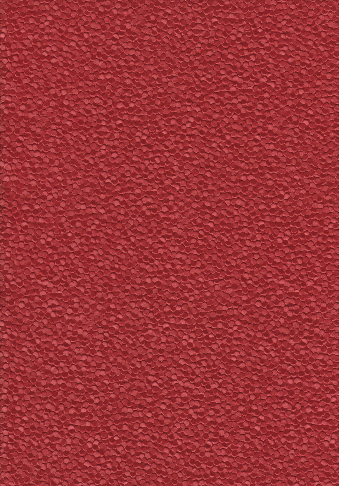Red pebble paper