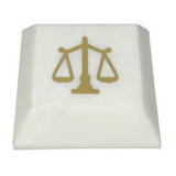 Paper Weight - The Jurist's - White