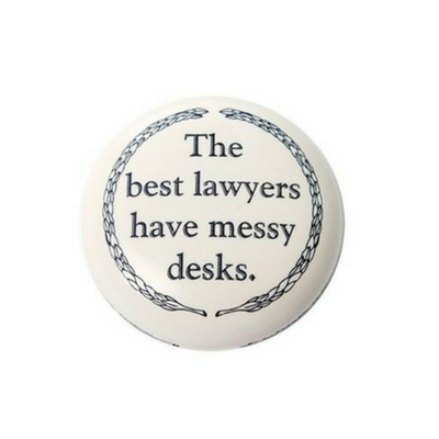 Paper Weight - Best Lawyers Have Messy Desks
