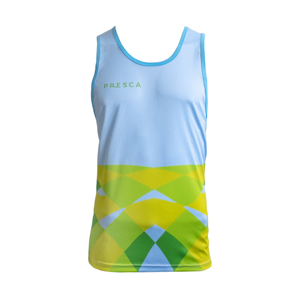 Blue Running Vests