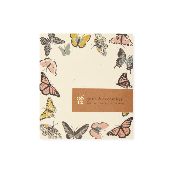 Butterfly Mini Notes