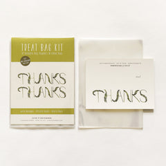 Fronds Thank You Treat Bag Kit