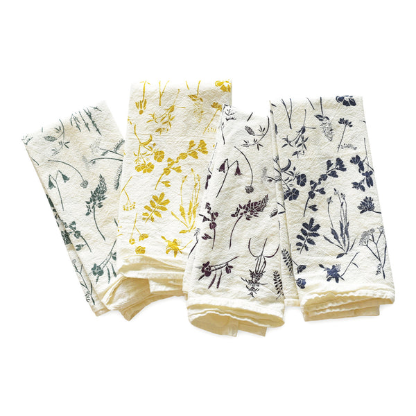 Mixed Wildflowers Napkins