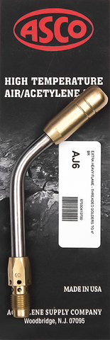 AJ6 High Temp Acetylene Tip - Extra Heavy Flame